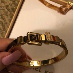 Michael Kors Jewelry - Michael Kors Tortoise Gold Buckle Bracelet